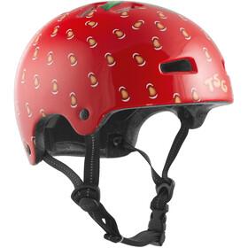 TSG Nipper Mini Graphic Design Kask rowerowy Dzieci czerwony